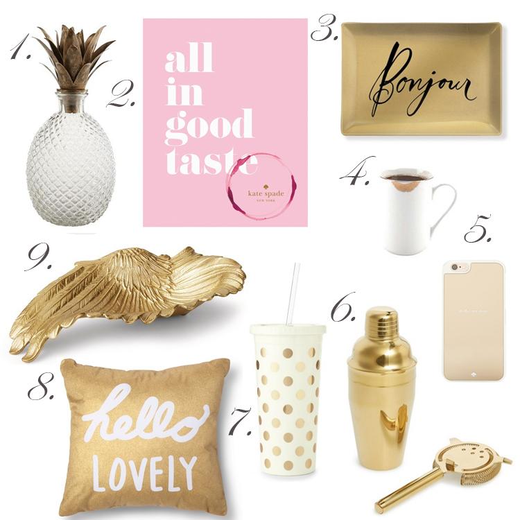 Golden Gift Guide for Her