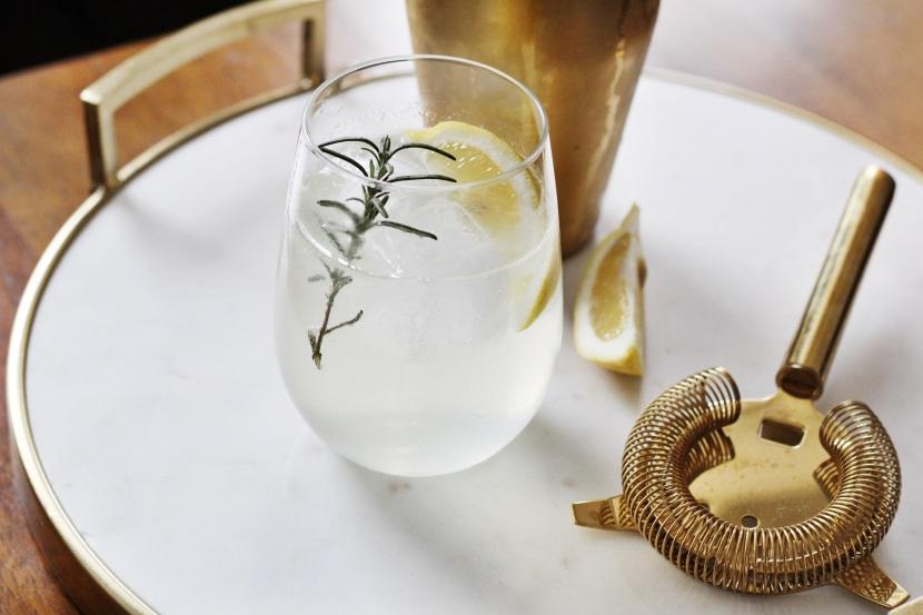Rosemary Gin Fizz